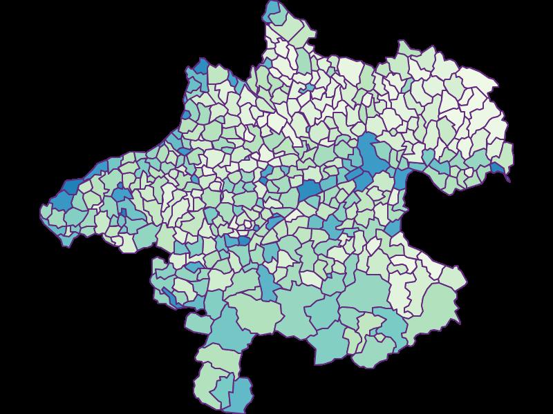 Fremdenanteil in Oberösterreich
