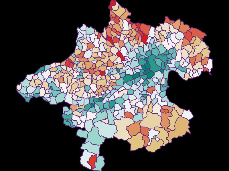 Bevölkerungsentwicklung seit 1869 in Oberösterreich