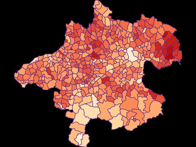 Haushaltsgröße in Oberösterreich