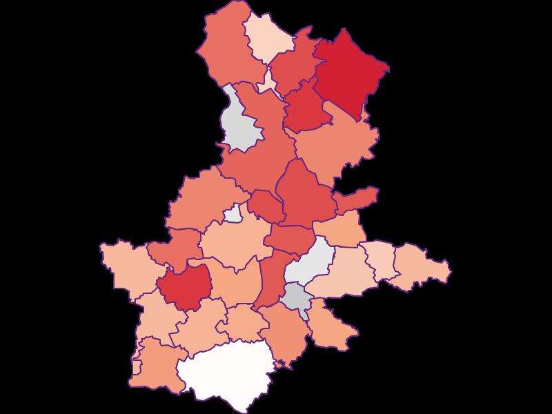Activity rate in Grieskirchen