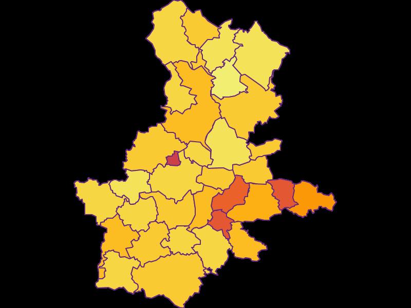 Population density in Grieskirchen