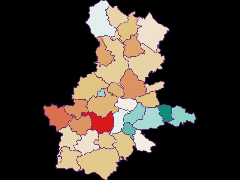 Population development since 1869 in Grieskirchen