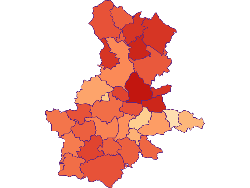 Household size in Grieskirchen