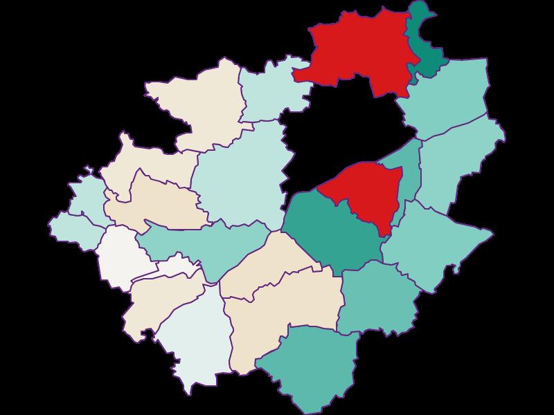 Демография с 2011 года в Wels-Land