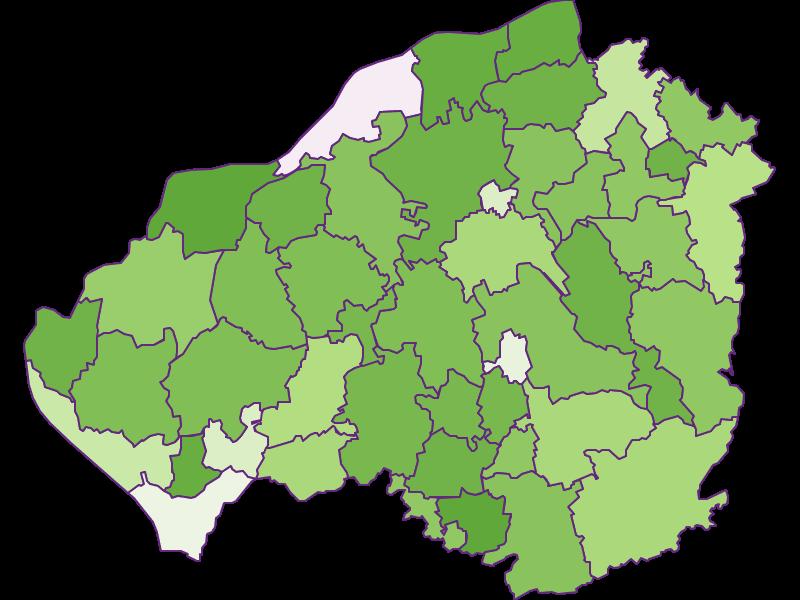 Заселенность в Braunau am Inn