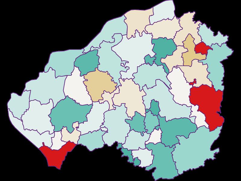 Демография с 2011 года в Braunau am Inn