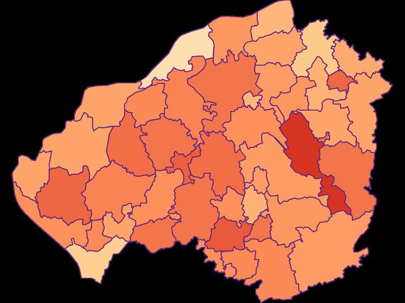 Размер домохозяйства в Braunau am Inn
