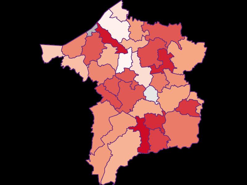 Activity rate in Ried im Innkreis