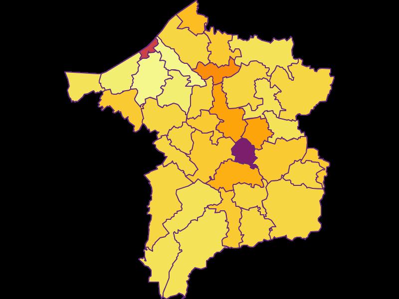 Population density in Ried im Innkreis