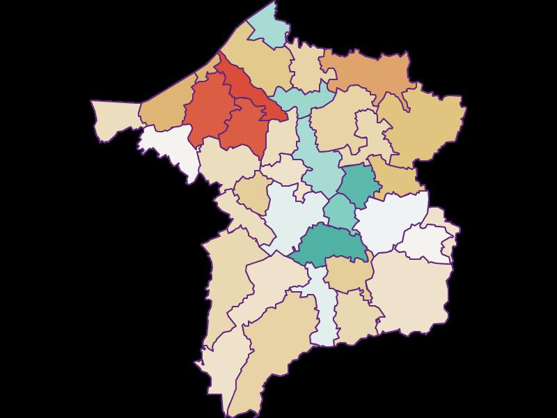 Population development since 1900 in Ried im Innkreis