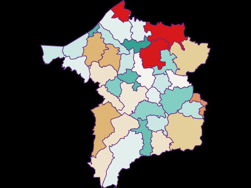 Population development since 2011 in Ried im Innkreis