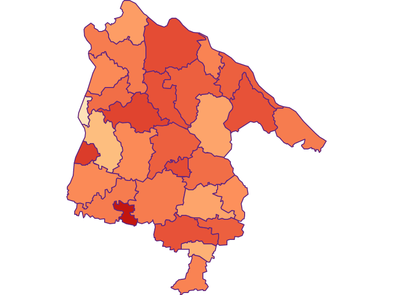 Household size in Schärding