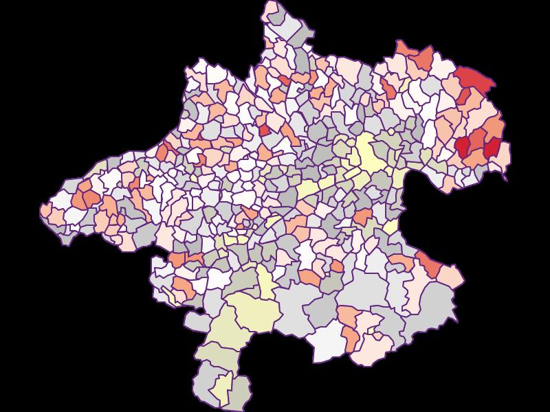 Landwirte (Österreich-Vergleich) in Oberösterreich