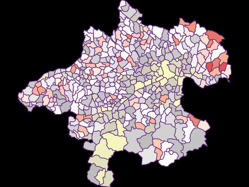 Landwirte (Bundesland-Vergleich) in Oberösterreich