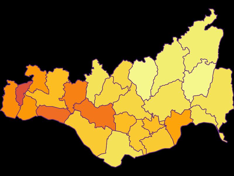Population density in Perg