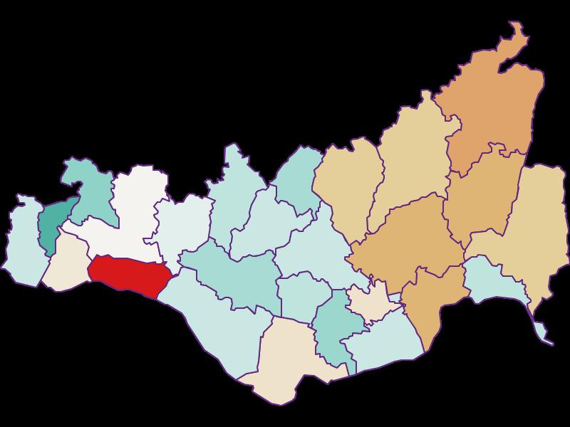 Population development since 2011 in Perg