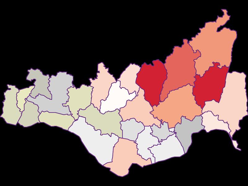 Farmers (comparison to Austria) in Perg