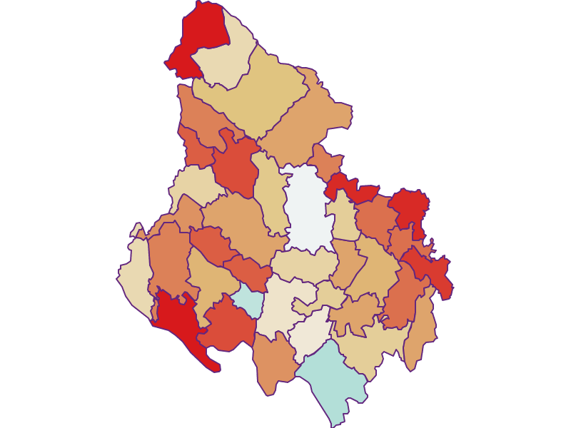 Population development since 1869 in Rohrbach