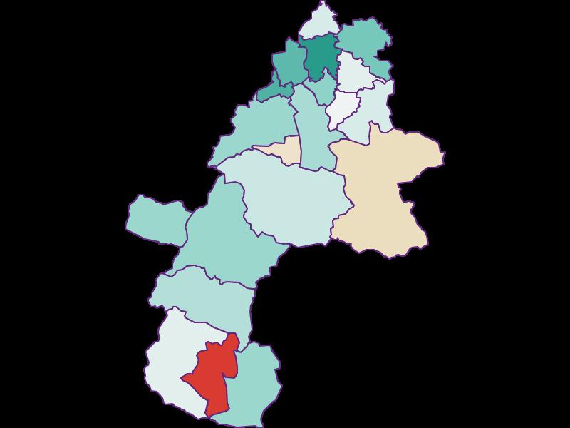 Демография с 1869 года в Gmunden