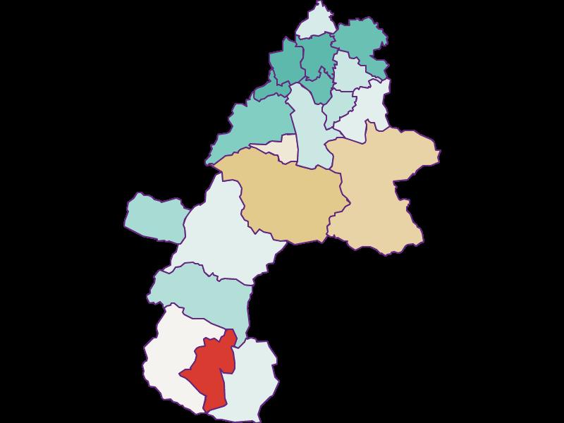Демография с 1900 года в Gmunden