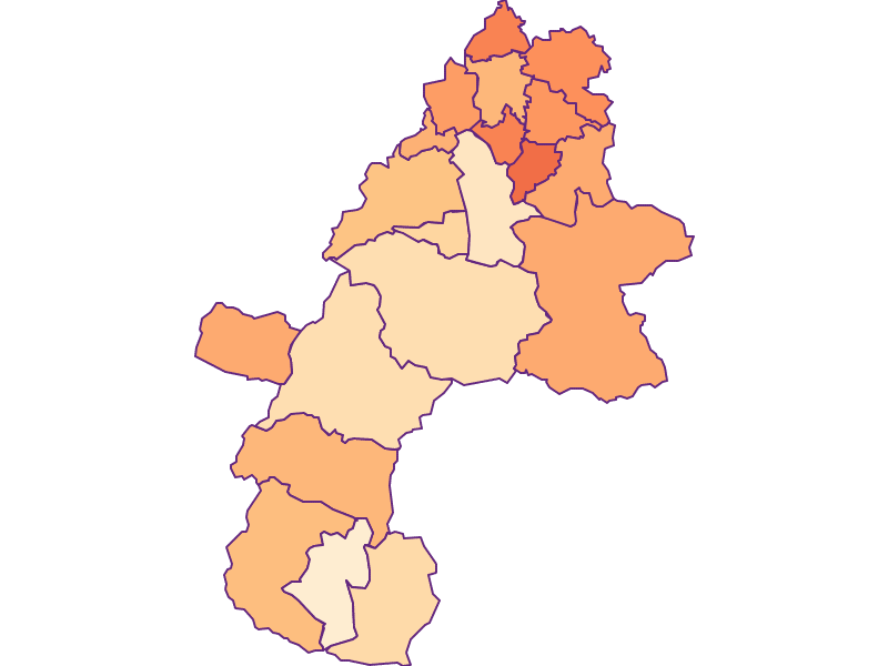 Размер домохозяйства в Gmunden