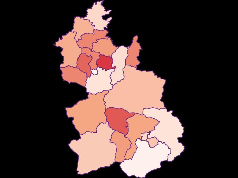 Activity rate in Kirchdorf an der Krems