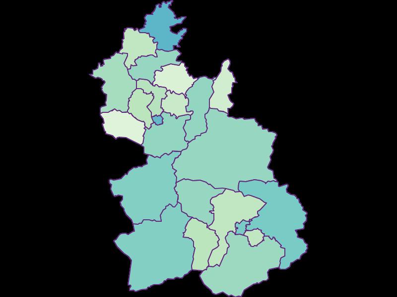 Share of foreigners in Kirchdorf an der Krems