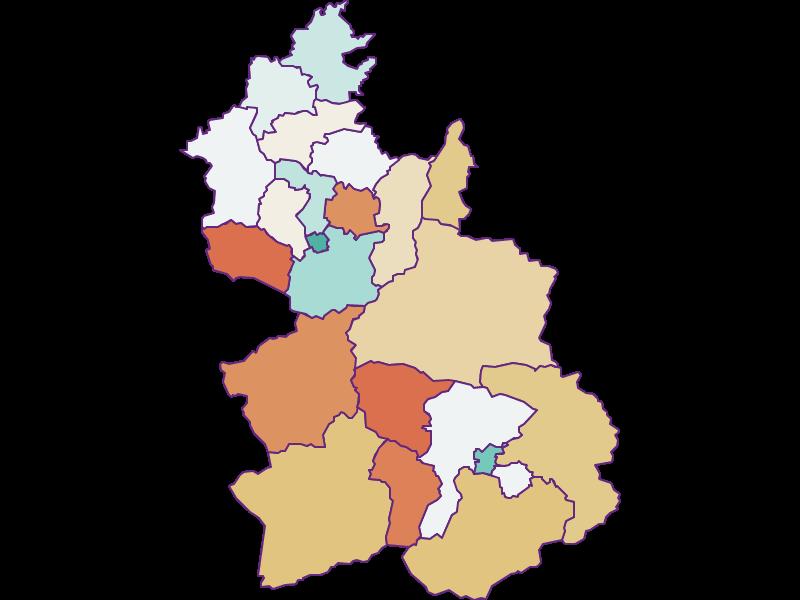 Population development since 1869 in Kirchdorf an der Krems