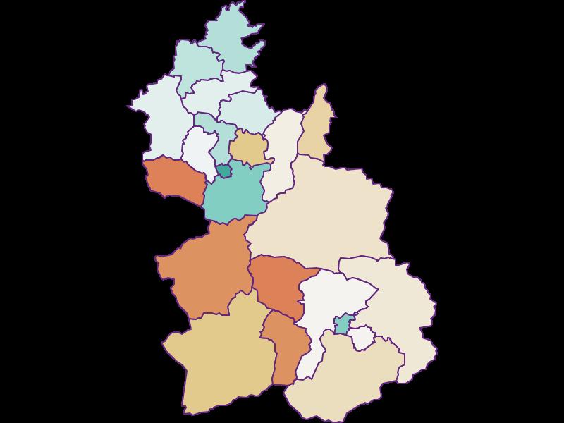 Population development since 1900 in Kirchdorf an der Krems
