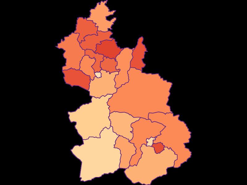 Household size in Kirchdorf an der Krems