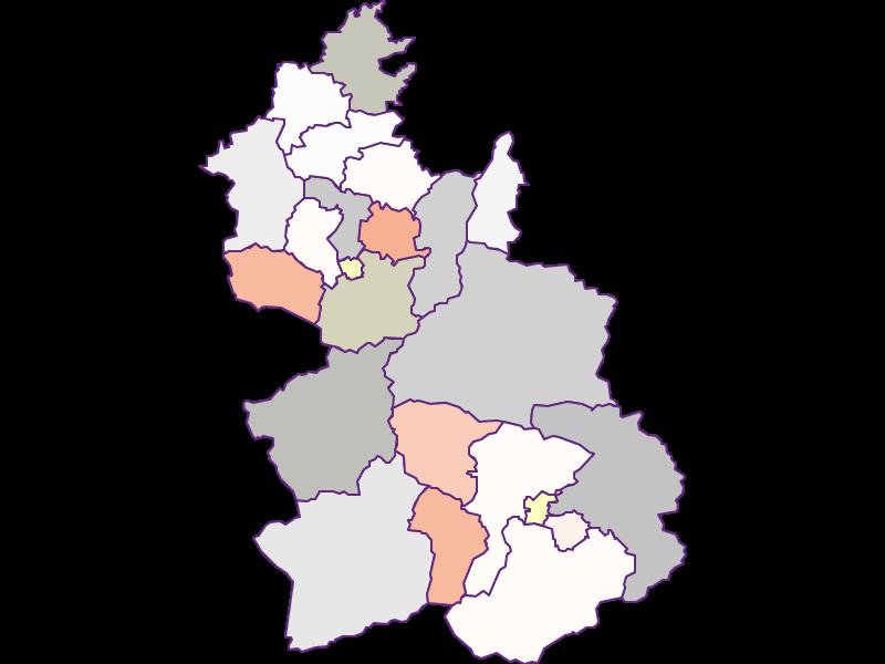 Farmers (comparison to federal state) in Kirchdorf an der Krems