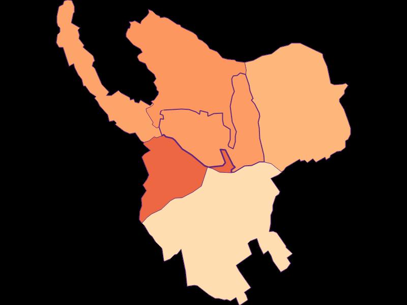 Размер домохозяйства в Horitschon