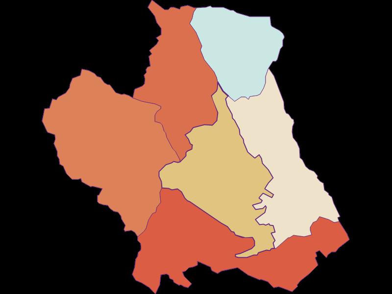 Population development since 1869 in Kobersdorf