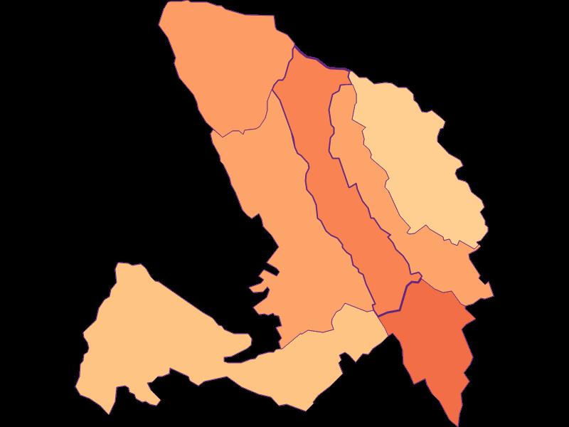 Размер домохозяйства в Lackenbach