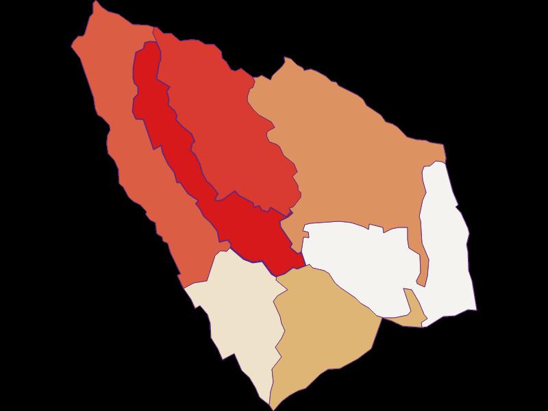 Population development since 1900 in Lackendorf