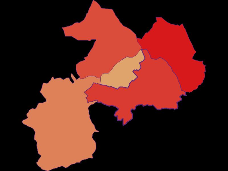 Population development since 1900 in Mannersdorf an der Rabnitz