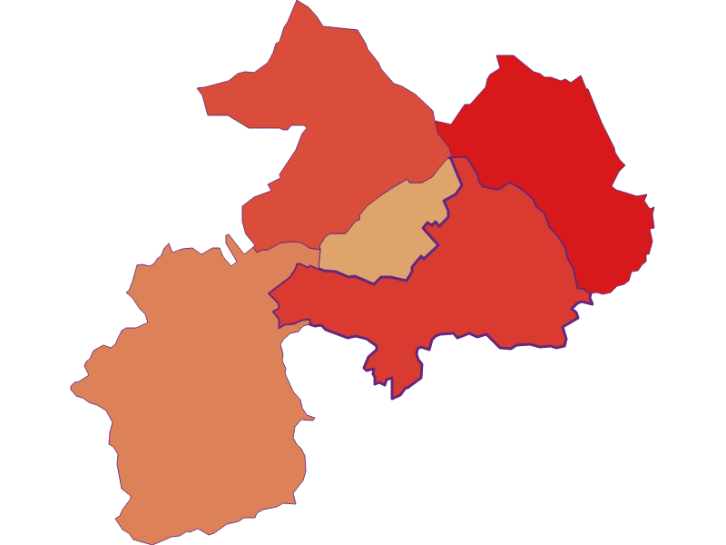 Bevölkerungsentwicklung seit 1900 | Mannersdorf an der Rabnitz