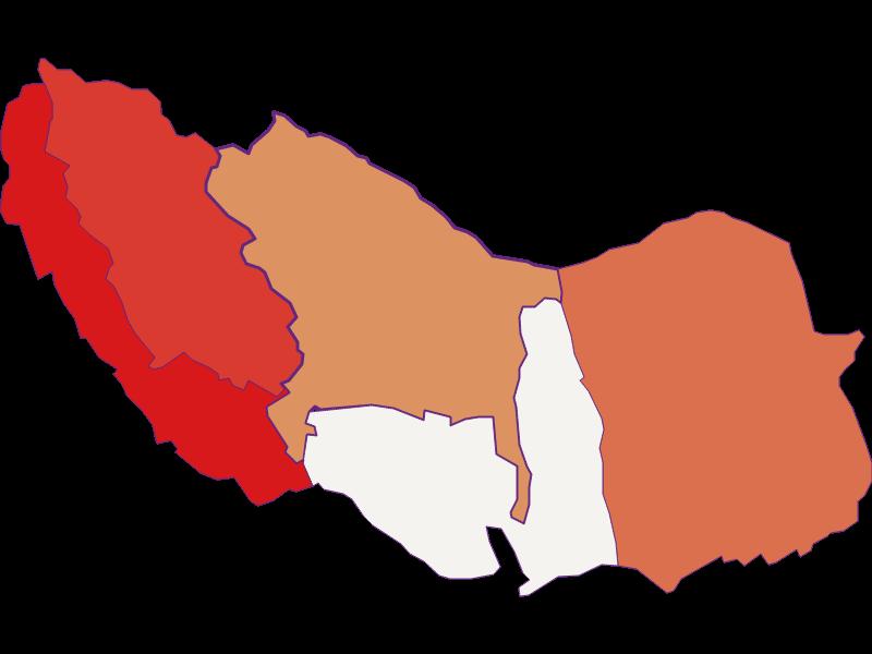 Population development since 1900 in Neckenmarkt
