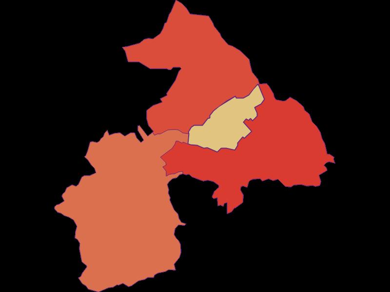 Population development since 1869 in Oberloisdorf
