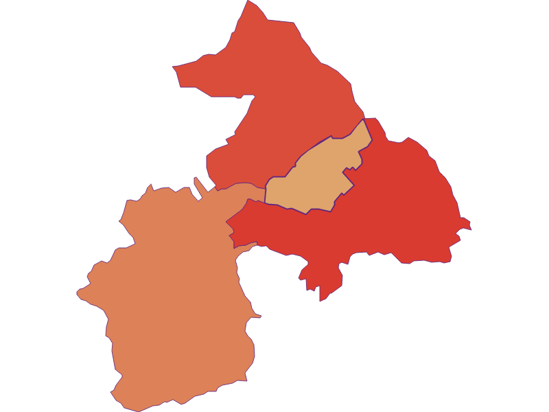 Population development since 1900 in Oberloisdorf