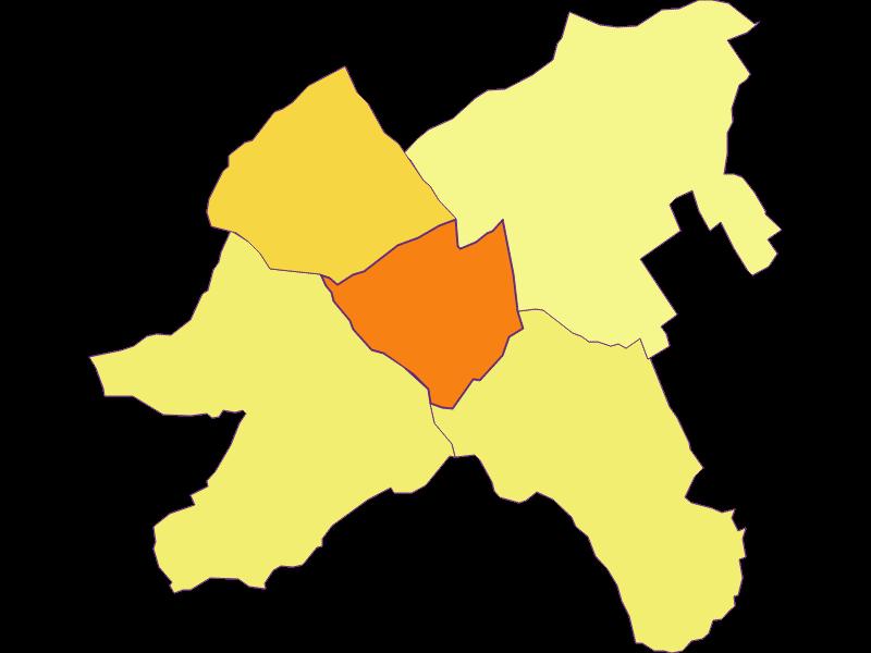 Population density in Oberpullendorf