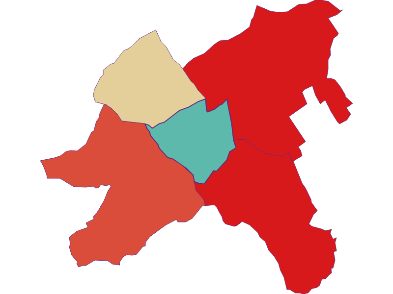 Population development since 1869 in Oberpullendorf