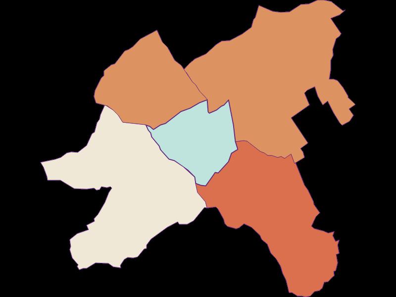 Population development since 2011 in Oberpullendorf