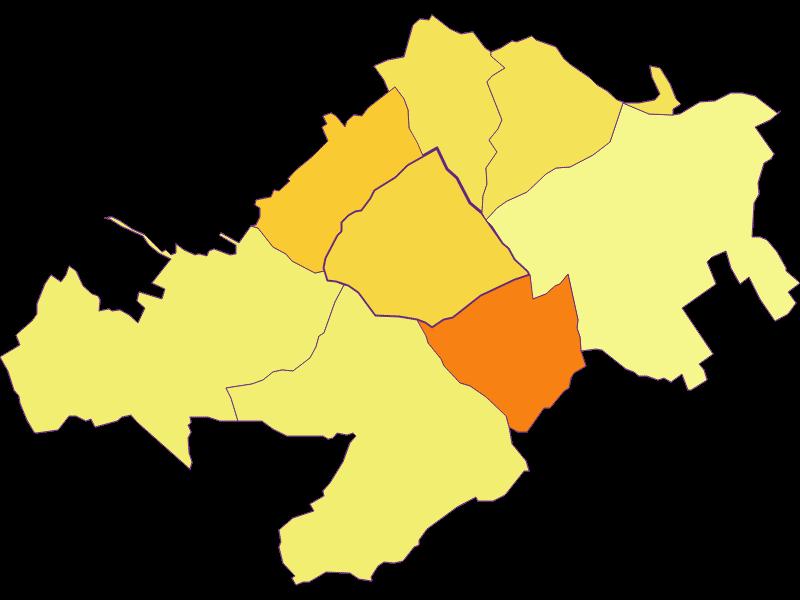 Плотность населения в Stoob