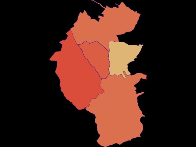 Population development since 1869 in Unterrabnitz-Schwendgraben