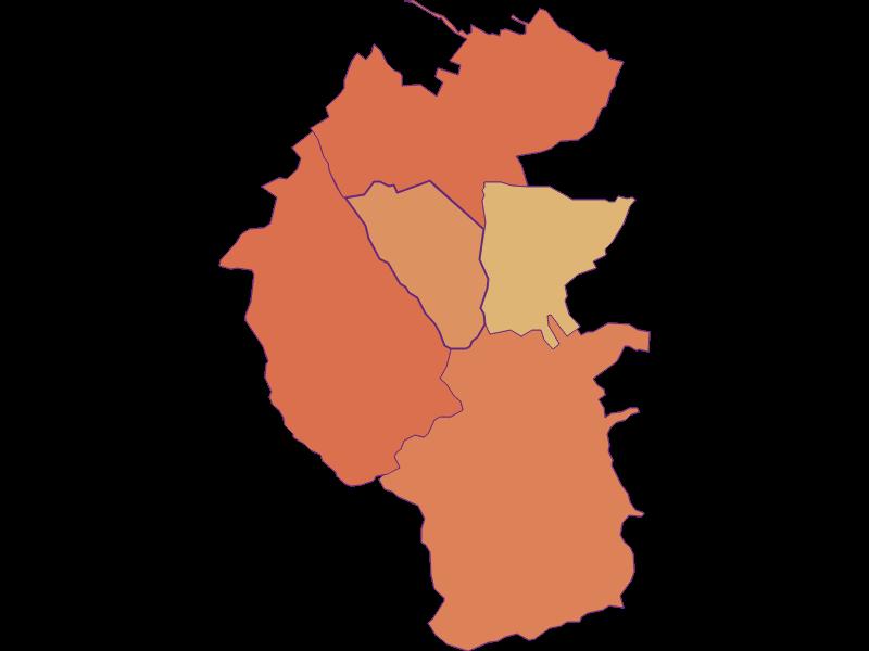 Population development since 1900 in Unterrabnitz-Schwendgraben