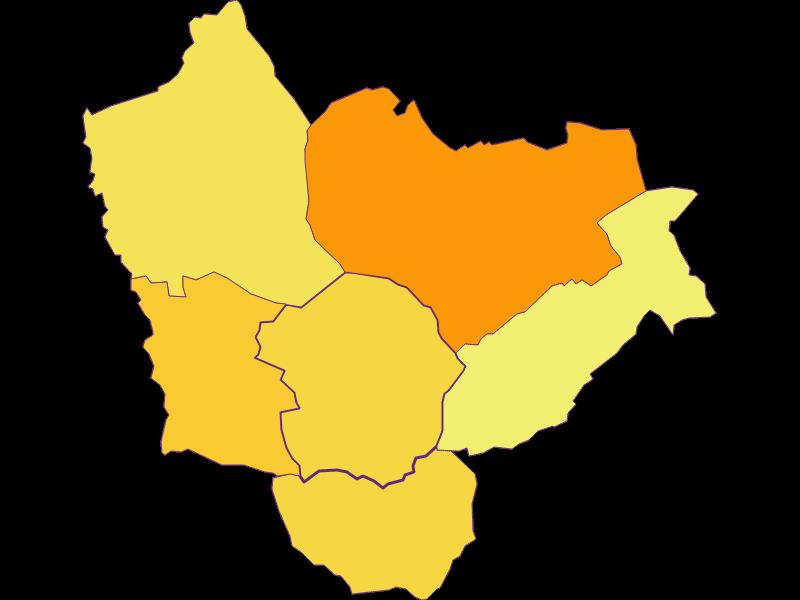 Population density in Kemeten