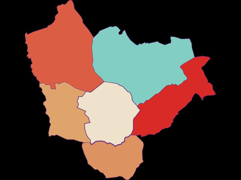 Population development since 1869 in Kemeten