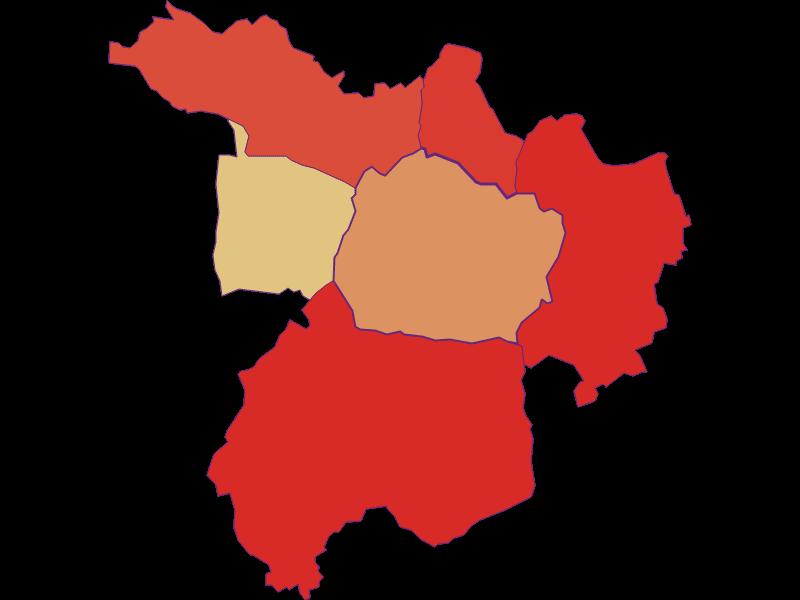 Population development since 1900 in Kohfidisch