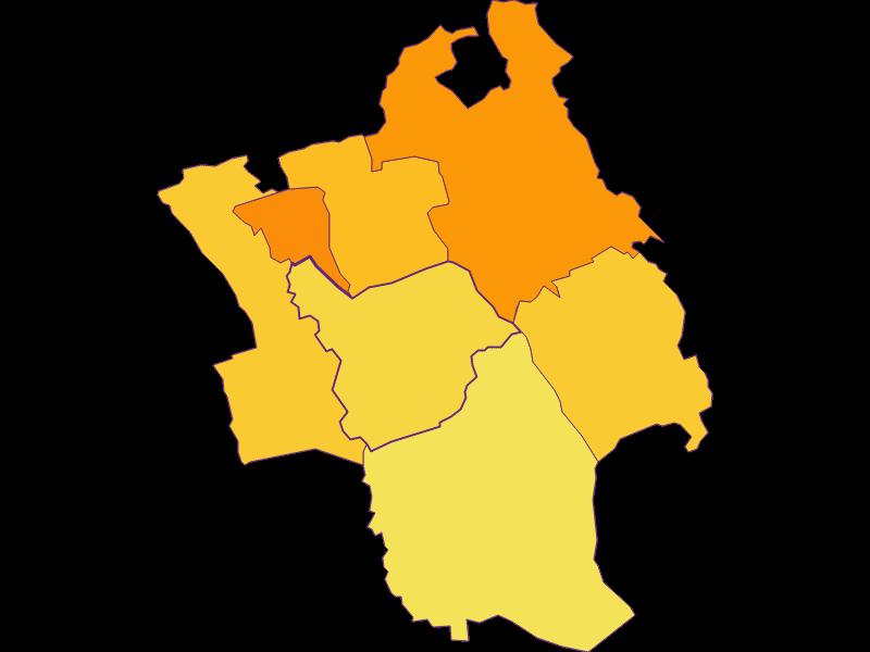Population density in Loipersdorf-Kitzladen